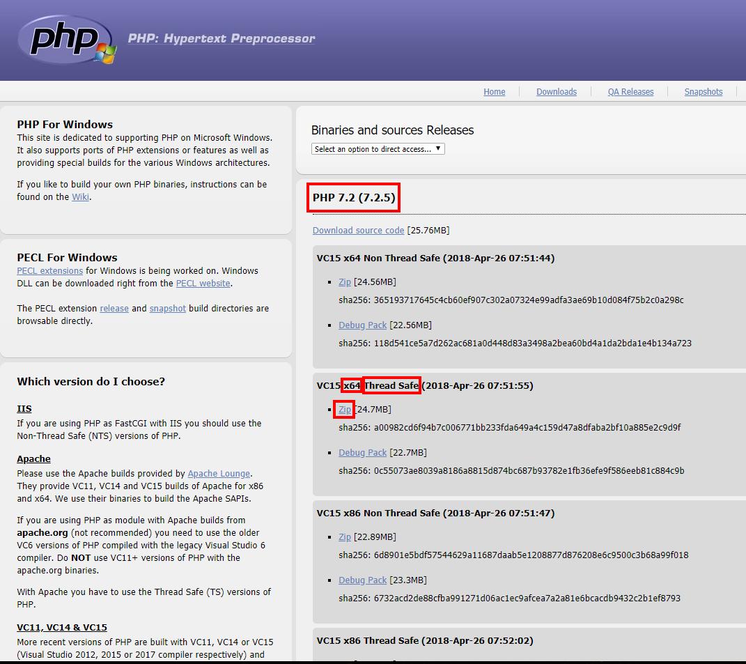 Как подключить PHP к Apache на Windows - Apache для Windows
